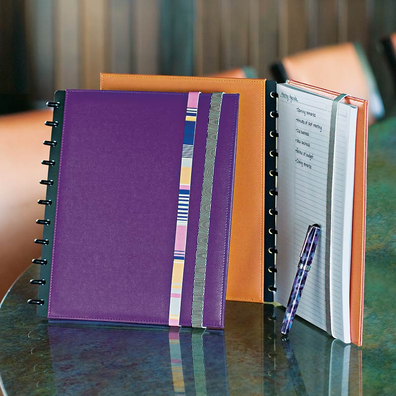 Circa Inside Out Foldover Notebook with Bands