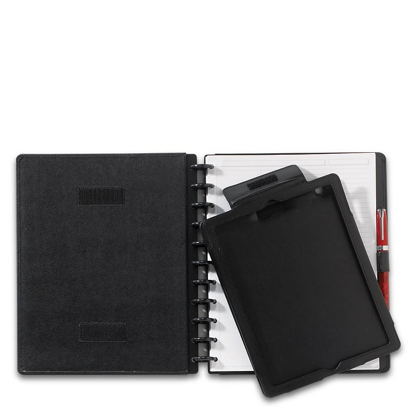 Circa iPad Foldover Notebook, Black