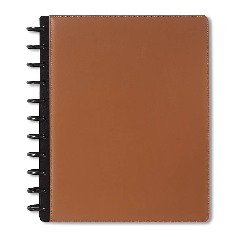 Circa iPad Foldover Notebook, Saddle