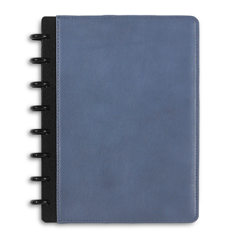 Circa Leather Foldover Notebook, Junior