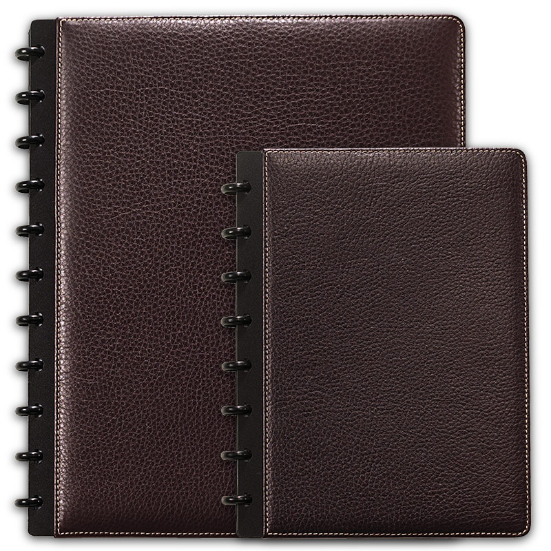 Bomber Jacket Circa Leather Foldover Notebook