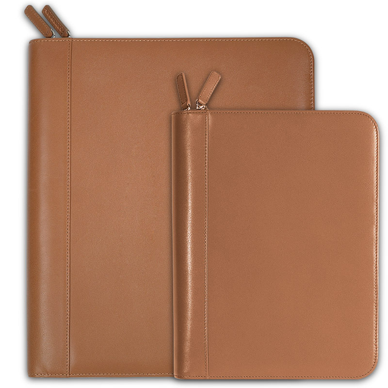 Circa Zip Folio, Saddle