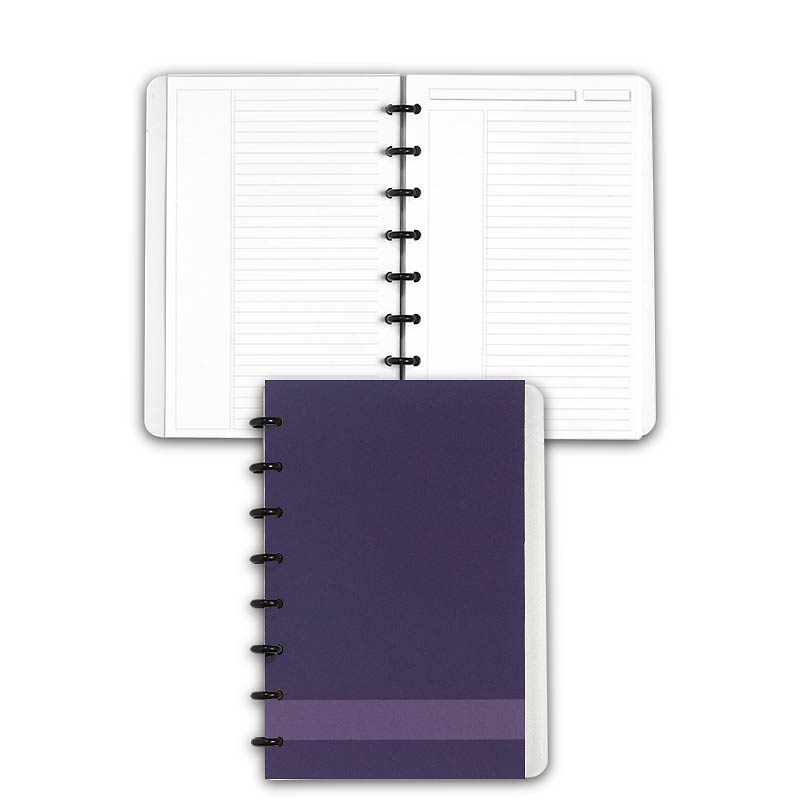 Special Request™ Circa Personalized Notebook, Annotation Ruled, Grape, Juni