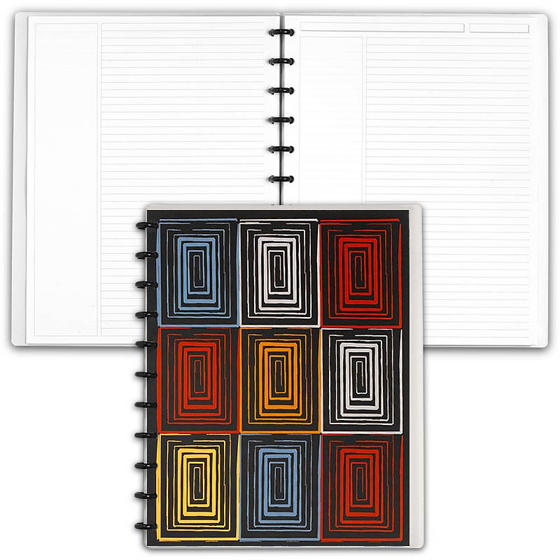 Special Request™ Circa Personalized Notebook, Annotation Ruled, Window, Let