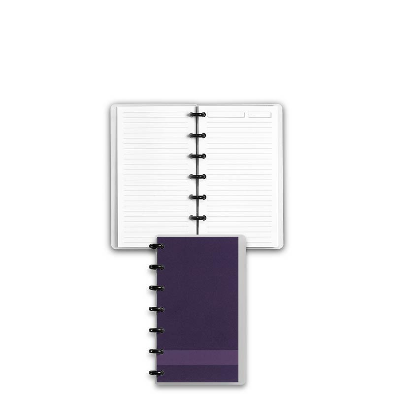 Special Request™ Circa Personalized Notebook, Full-Page Ruled, Grape, Compa