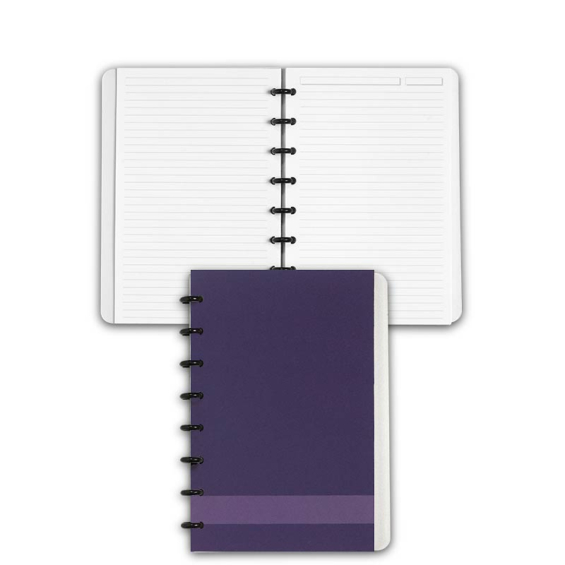 Special Request™ Circa Personalized Notebook, Full-Page Ruled, Grape, Junio