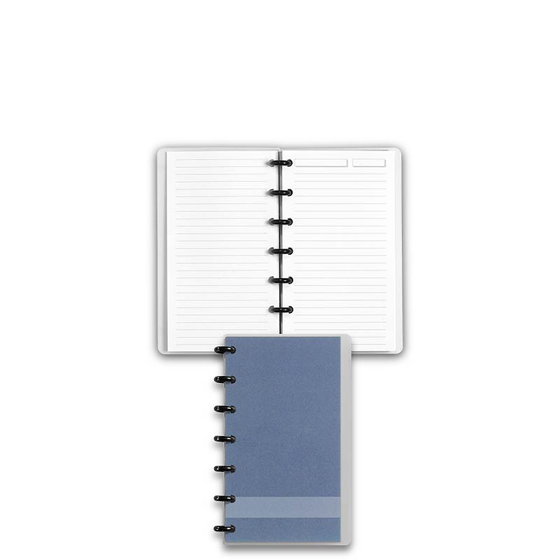 Special Request™ Circa Personalized Notebook, Full-Page Ruled, Slate, Compa