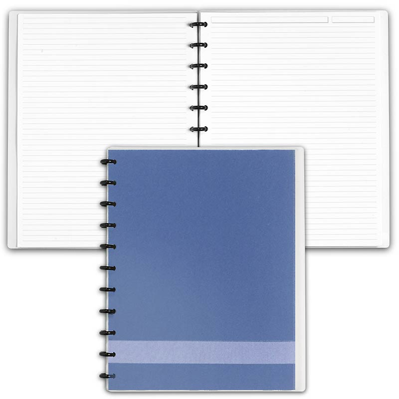 Special Request™ Circa Personalized Notebook, Full-Page Ruled, Slate, Lette