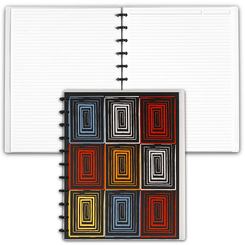 Special Request™ Circa Personalized Notebook, Full-Page Ruled, Window, Lett