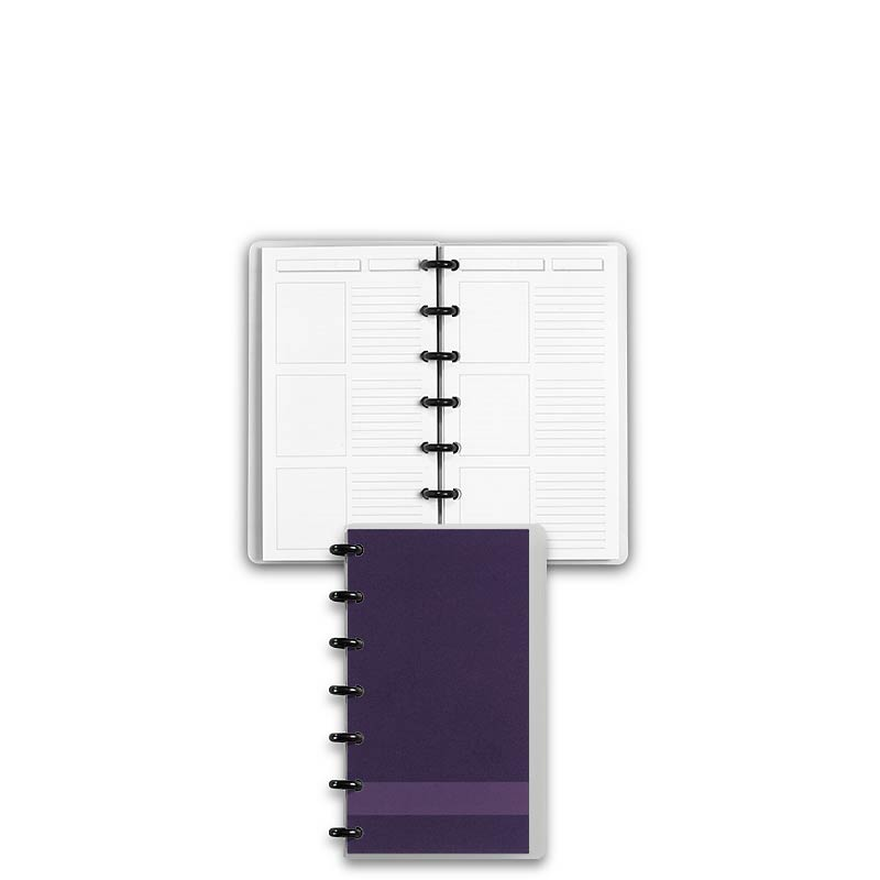 Special Request™ Circa Personalized Notebook, Storyboard, Grape, Compact