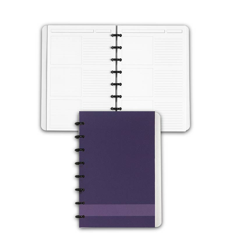 Special Request™ Circa Personalized Notebook, Storyboard, Grape, Junior