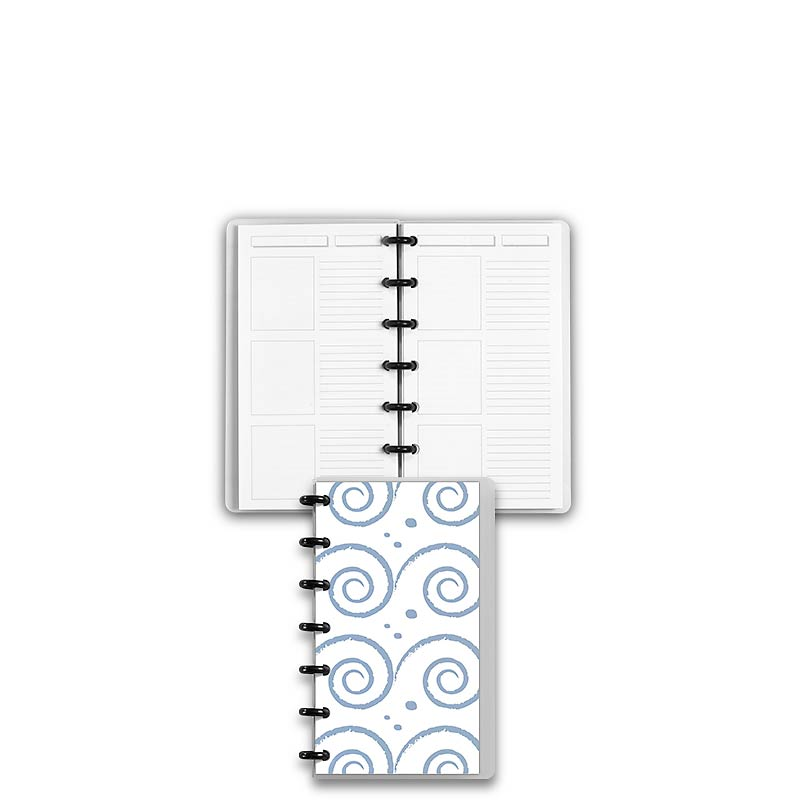 Special Request™ Circa Personalized Notebook, Storyboard, Waves, Compact