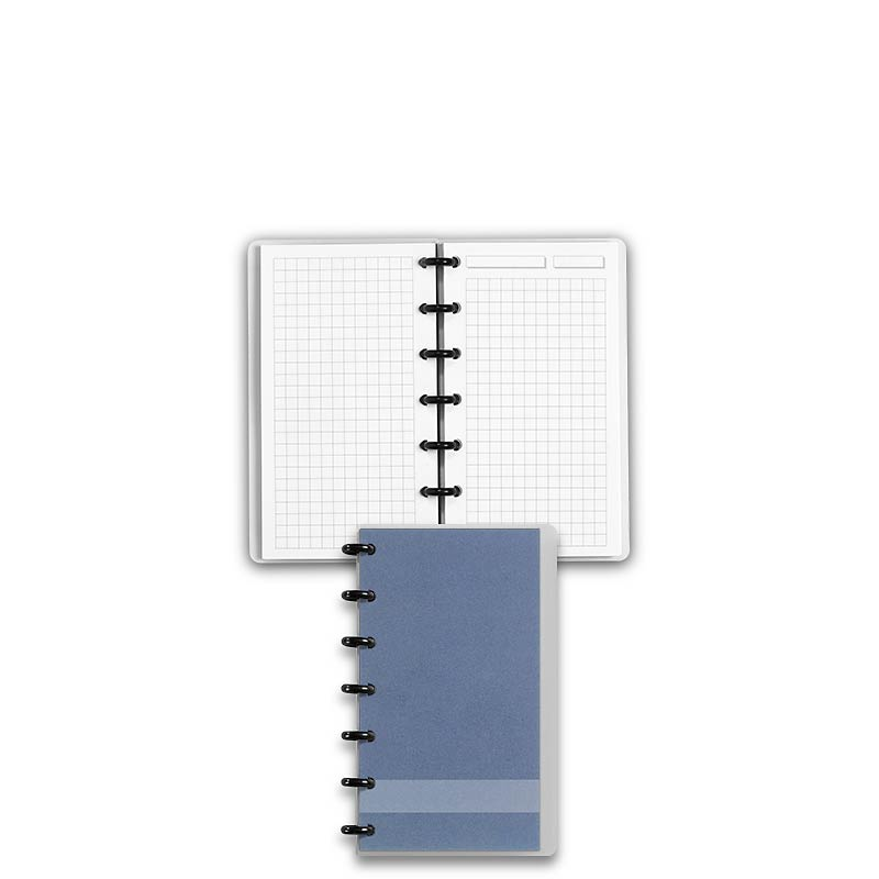Special Request™ Circa Personalized Notebook, Full-Page Grid, Slate, Compac