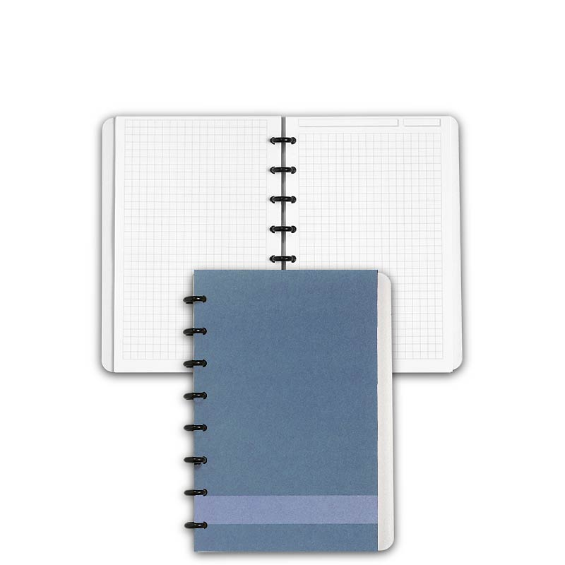 Special Request™ Circa Personalized Notebook, Full-Page Grid, Slate, Junior