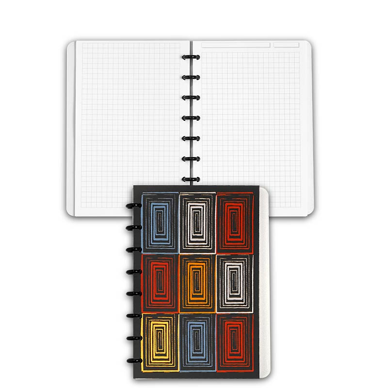 Special Request™ Circa Personalized Notebook, Full-Page Grid, Window, Junio