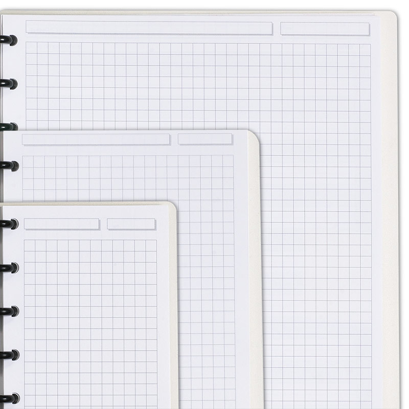 Special Request™ Circa Personalized Notebook, Full-Page Grid