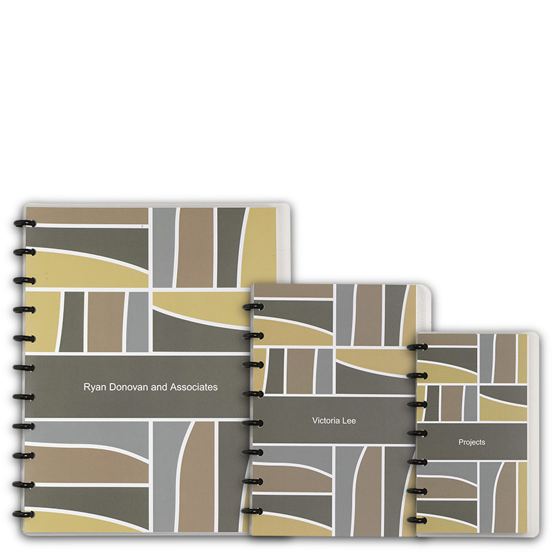 Special Request™ Circa Personalized Notebook, Full-Page Grid, Mosaic