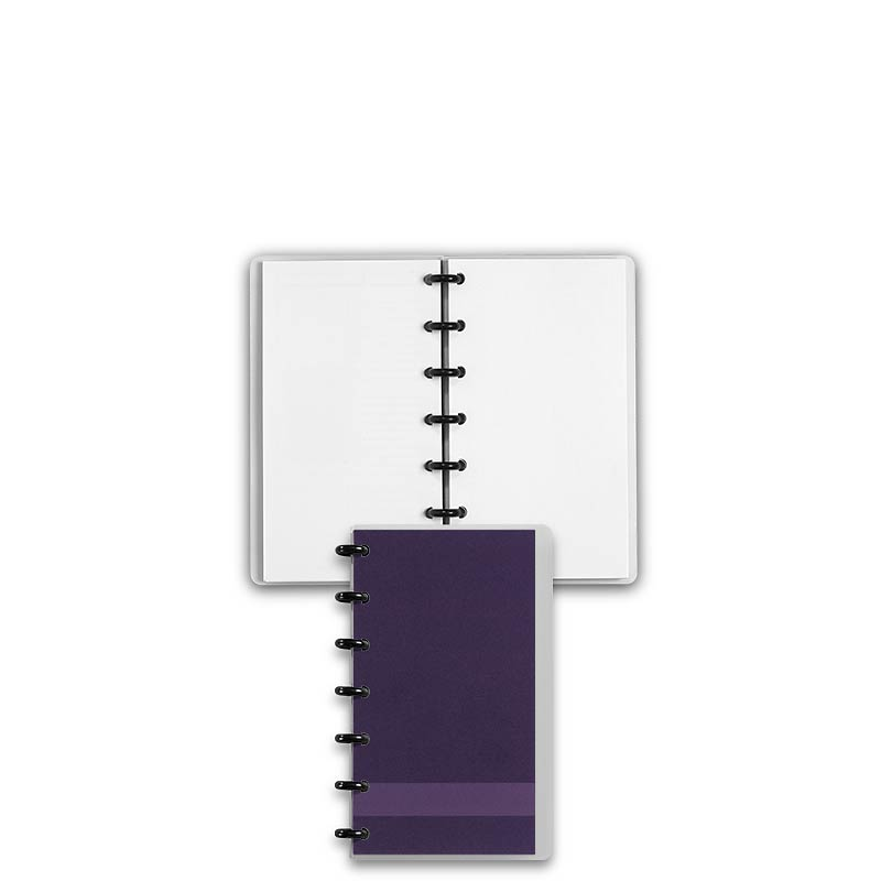Special Request™ Circa Personalized Notebook, Blank, Grape, Compact