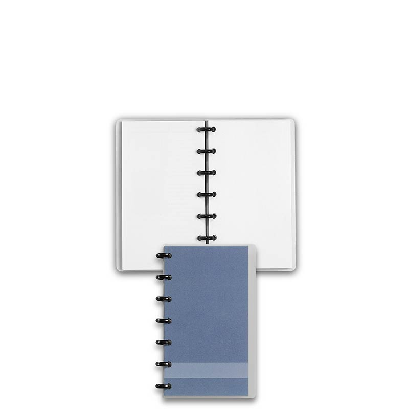 Special Request™ Circa Personalized Notebook, Blank, Slate, Compact