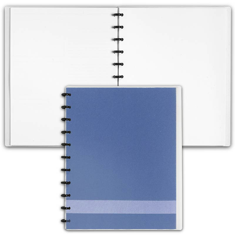 Special Request™ Circa Personalized Notebook, Blank, Slate, Letter