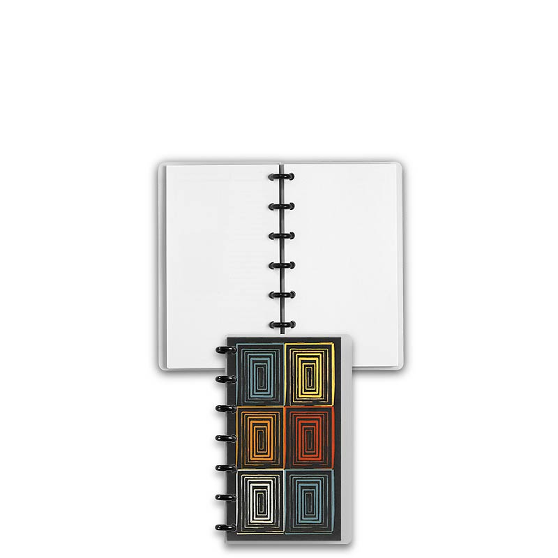 Special Request™ Circa Personalized Notebook, Blank, Window, Compact