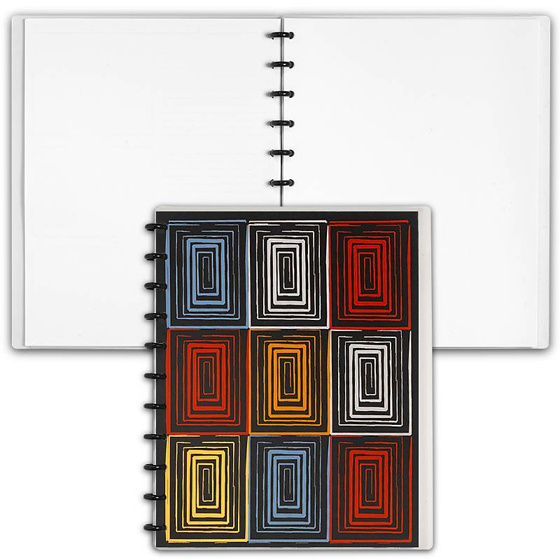 Special Request™ Circa Personalized Notebook, Blank, Window, Letter