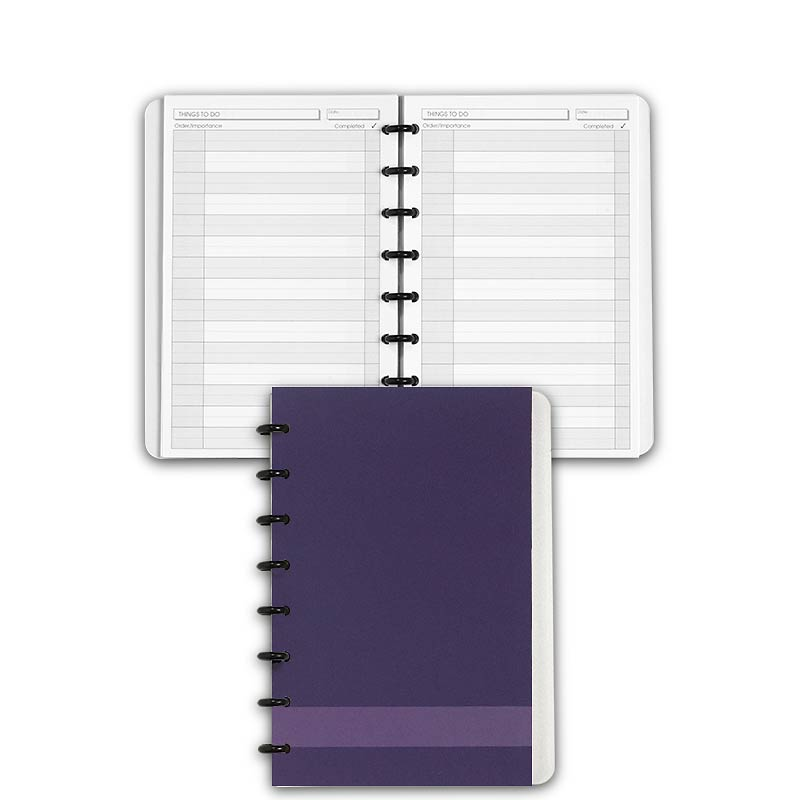 Special Request™ Circa Personalized Notebook, Things To Do, Grape, Junior