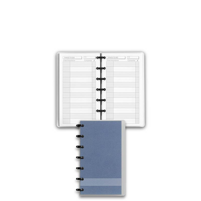 Special Request™ Circa Personalized Notebook, Things To Do, Slate, Compact