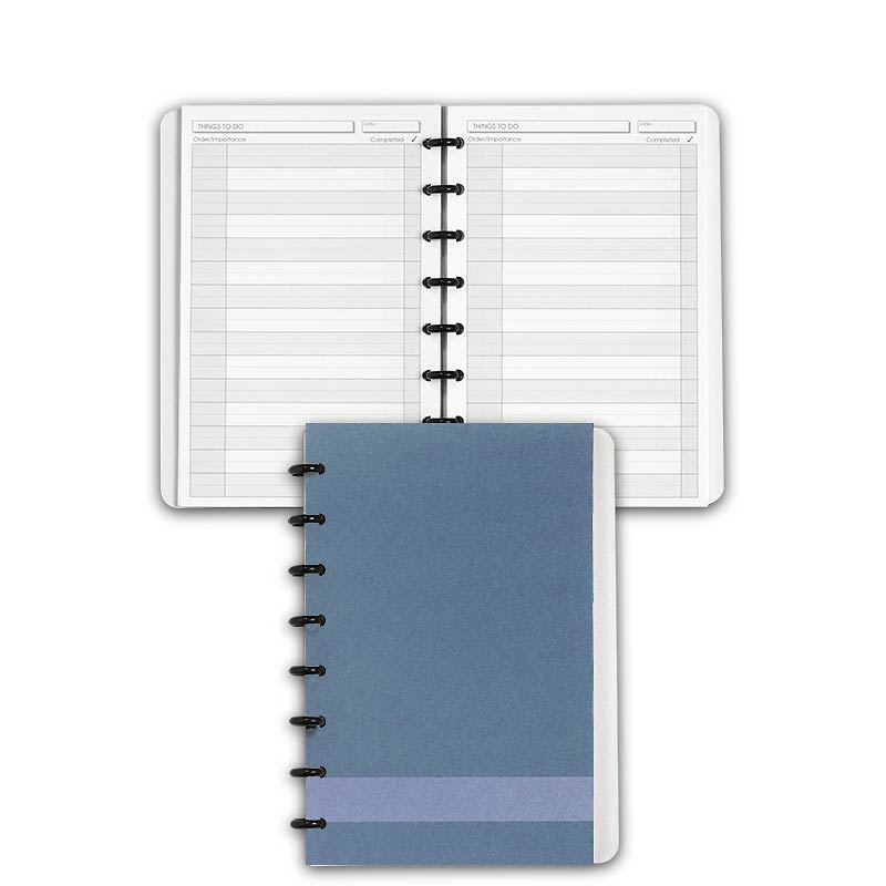 Special Request™ Circa Personalized Notebook, Things To Do, Slate, Junior