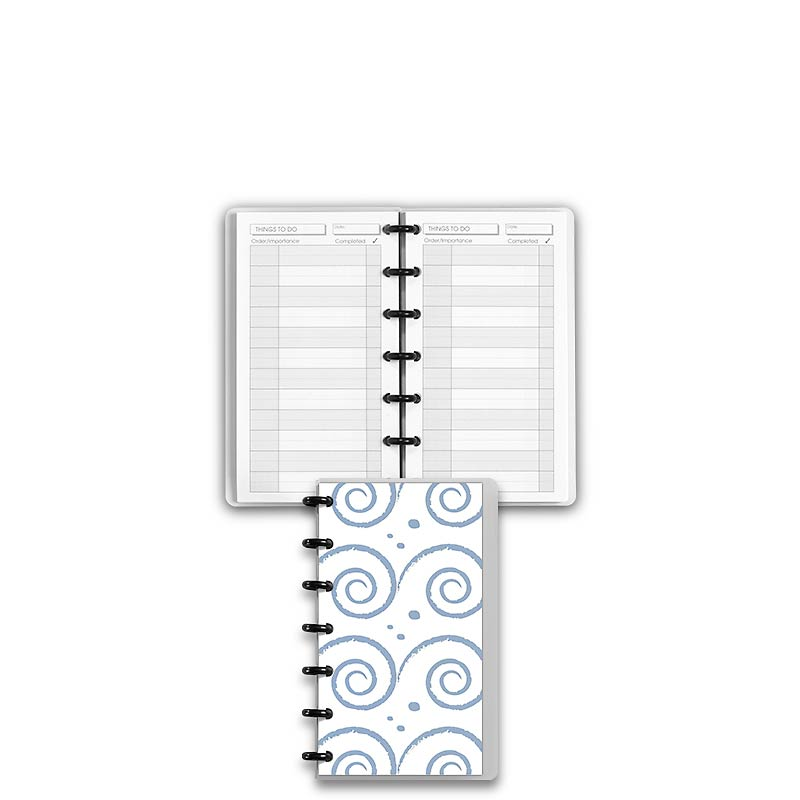 Special Request™ Circa Personalized Notebook, Things To Do, Waves, Compact