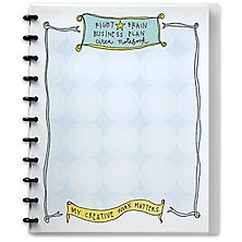 Circa Right-Brain Business Plan Notebook, Letter
