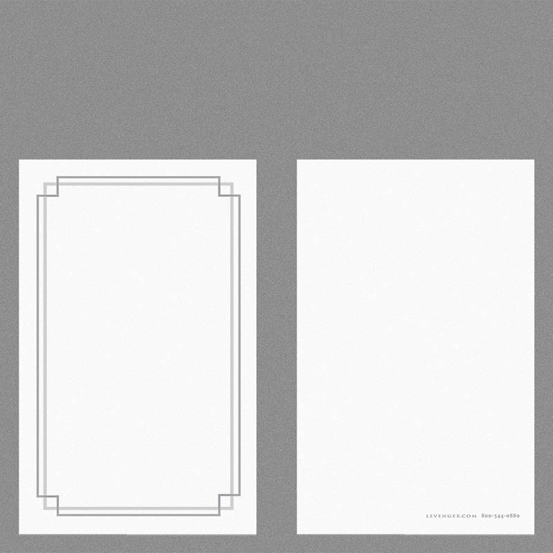 Special Request™ 3 x 5 Cards, Stepped Border