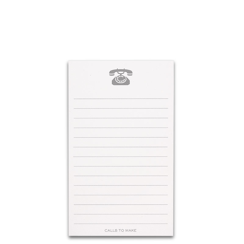 Special Request™ 3 x 5 Tasker Cards, Calls To Make (set of 100)