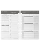 Circa Balanced Life Planner Refill, Junior Gray (Apr.–Jun. 2013)