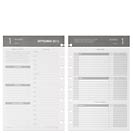 Circa Balanced Life Planner Refill, Junior Gray (Jul.–Sept. 2013)
