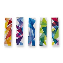 Prism Page Flags - Crystal Prisms