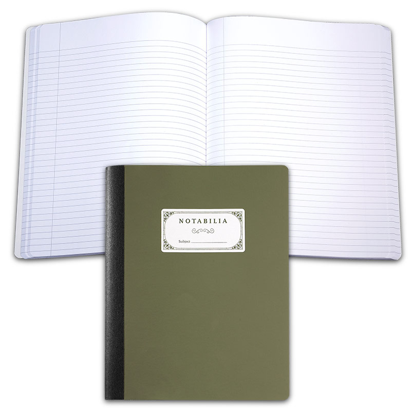 Notabilia Notebooks (set of two), Ruled