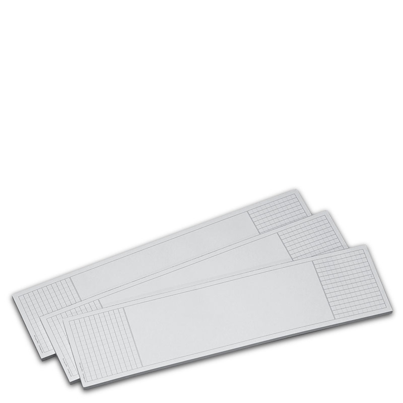3 Blotter Margin Pads (50 sheets each)