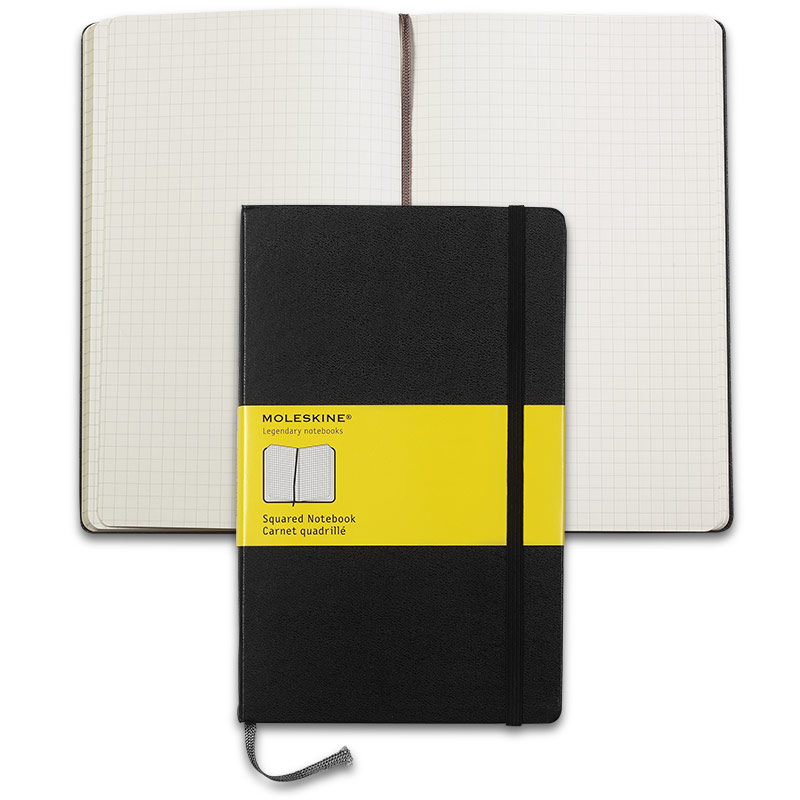 Moleskine® Notebook, Large, Grid
