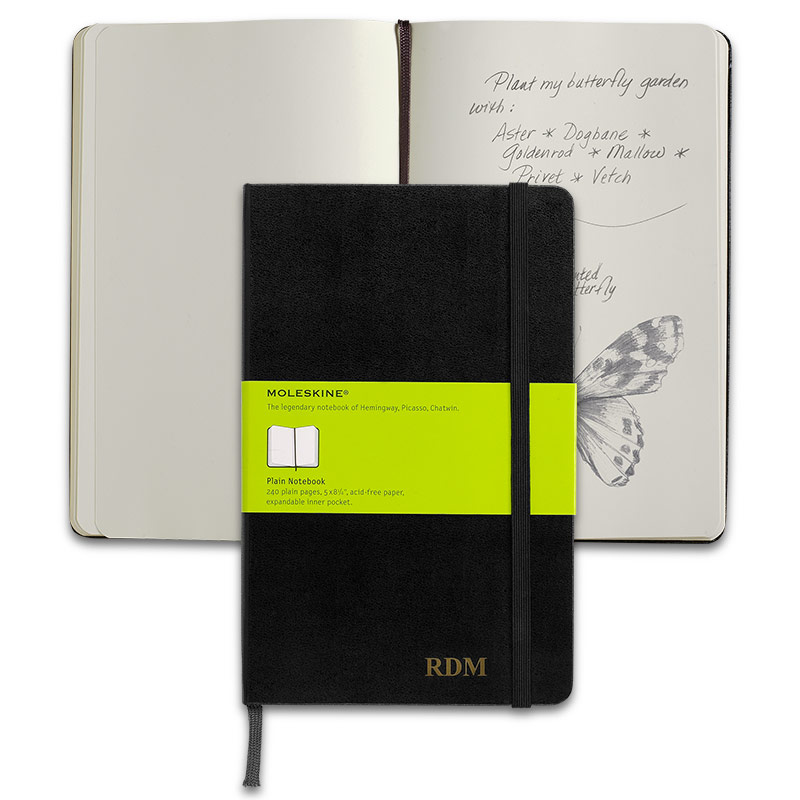 Moleskine® Notebook, Large, Blank