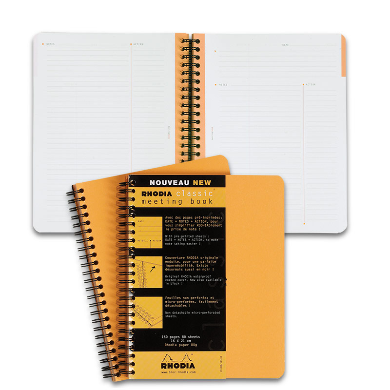 Rhodia Meeting Book, Small
