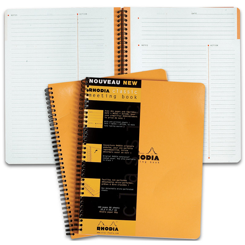 Rhodia Meeting Book, Large