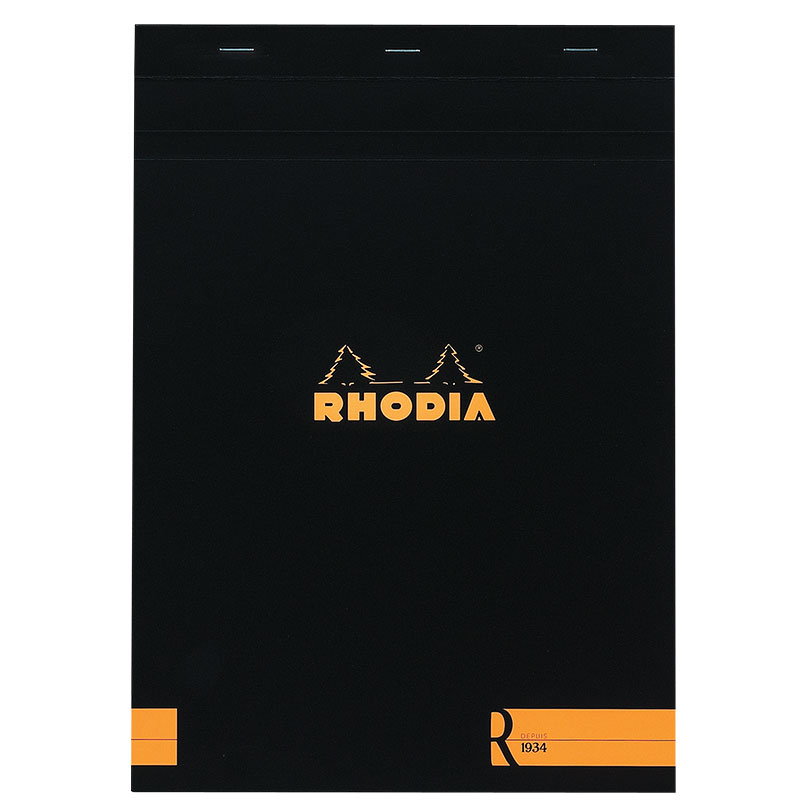 Rhodia R Notepad, Black