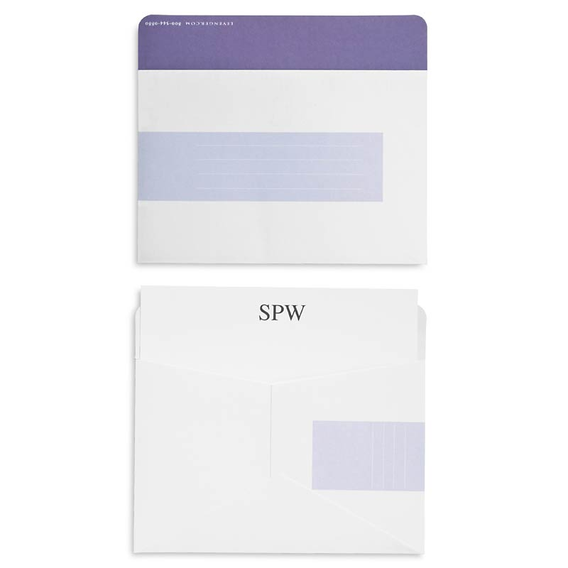 Shades 3 x 5 Card Envelopes (set of 50)