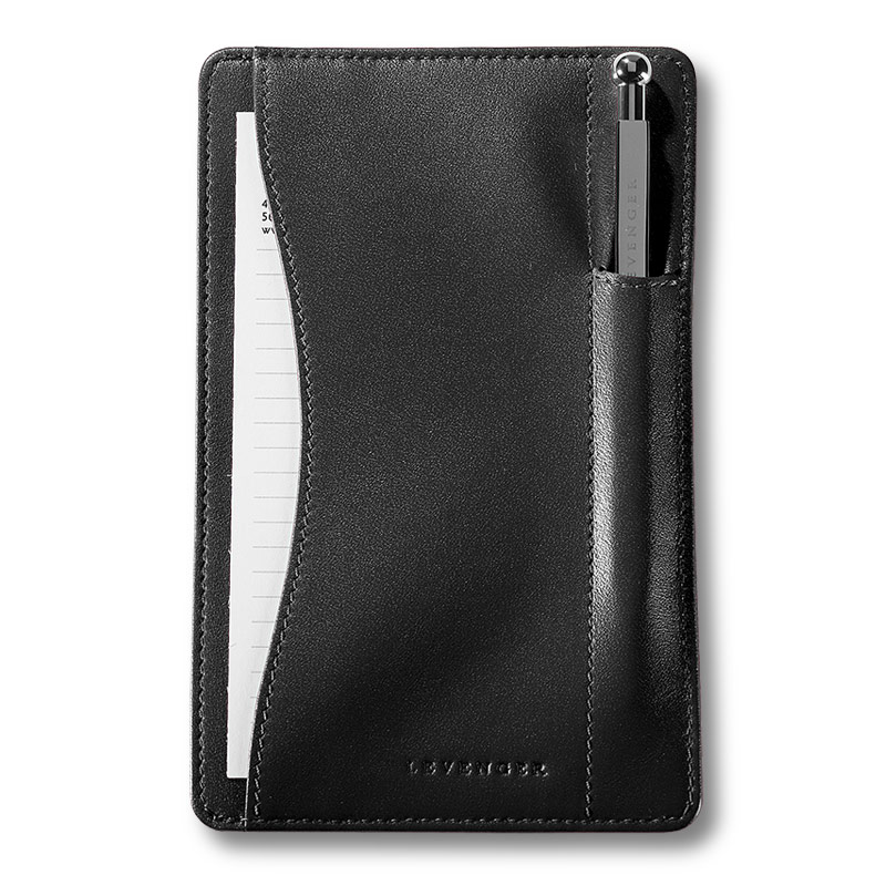 Pen Pocket Briefcase® with pen, Black