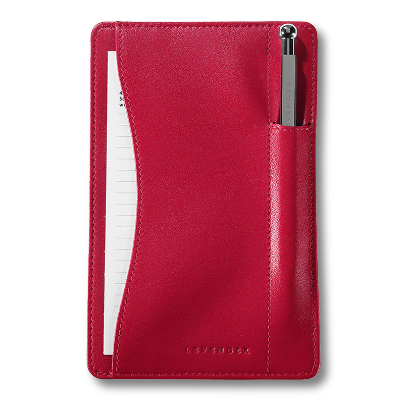 Pen Pocket Briefcase® with pen, Red