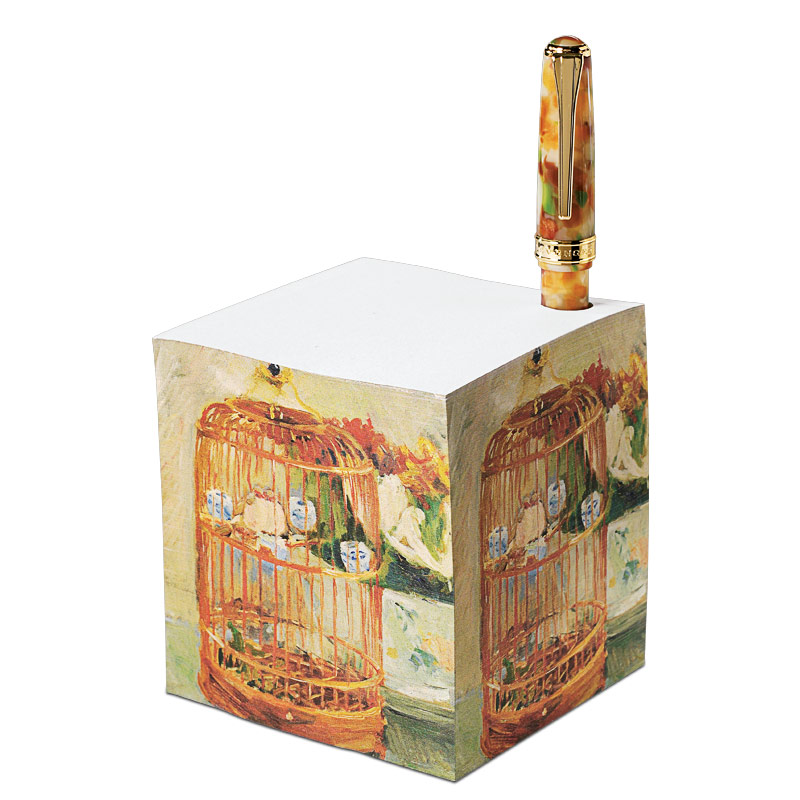 True Writer® French Impressionist Ballpoint & Note Cube