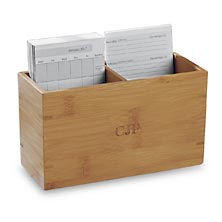 Nantucket Note Card Box with Calendar Cards, 2017