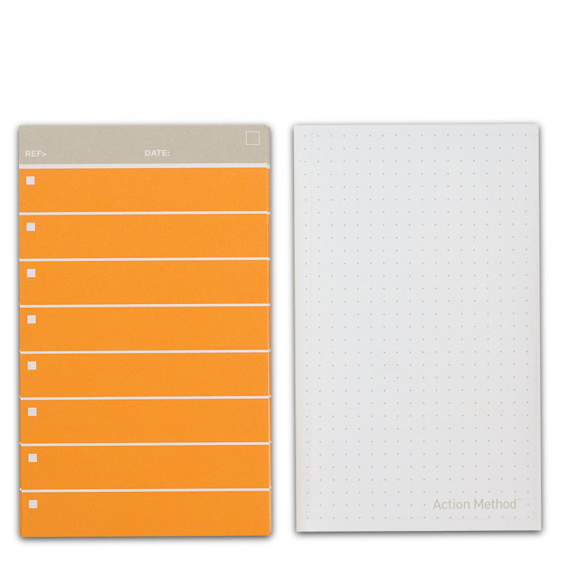 Behance Action Cards, Orange