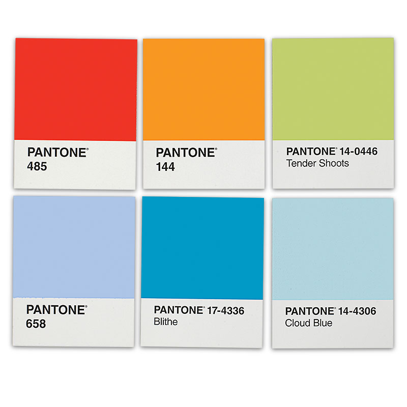PANTONE Notes Note Cards & Envelopes